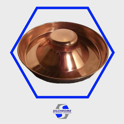 Silchrome copper electroplating
