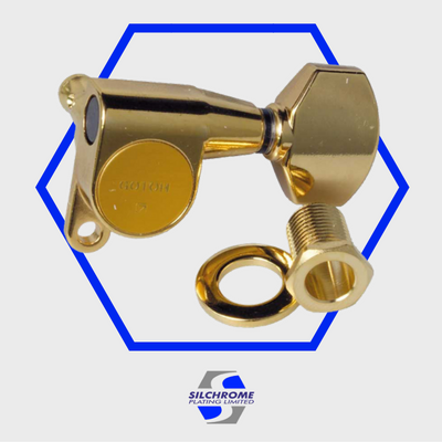 Silchrome Gold immersion plating