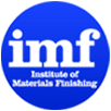 The official logo for the Institute of Materials Finishing.